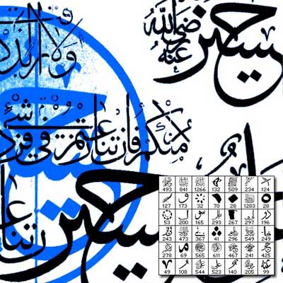 Ottoman Calligraphy by q3c
