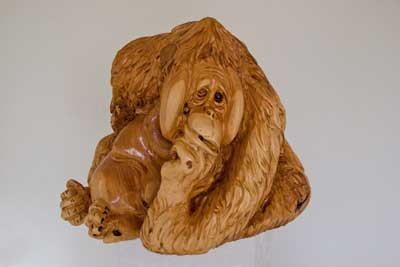 Chainsaw Carving Arts by J Chester Armstrong