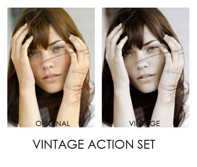 Free Photoshop Actions for Fashion and Portrait Photographers