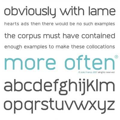 Free San Serif Fonts - Often Typeface(Beta Version)