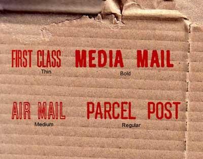 Free San Serif Fonts - Postal