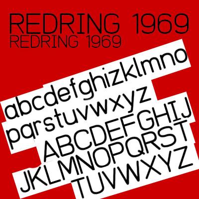 Free San Serif Fonts - Redring 1969