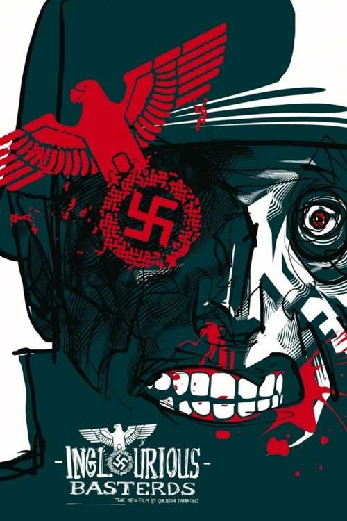 13 Amazing Inglourious Basterds Movie Poster Arts