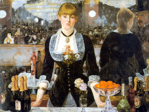 Antique Oil Paintings - Edward Manet