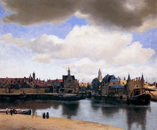Antique Oil Paintings - Johannes Vermeer