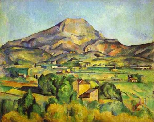 Antique Oil Paintings - Paul Cézanne