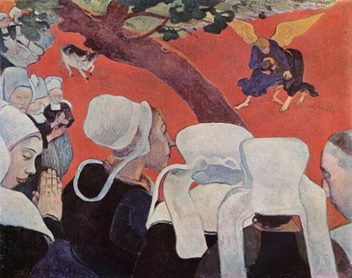 Antique Oil Paintings - Paul Gaugin