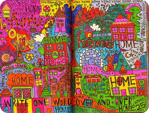 Creative Examples of Doodle Art - Eklektick 1