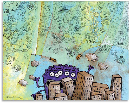 Creative Examples of Doodle Art - Jim Bradshaw