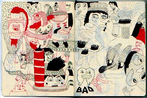 Creative Examples of Doodle Art - Matteo Gualandris 2