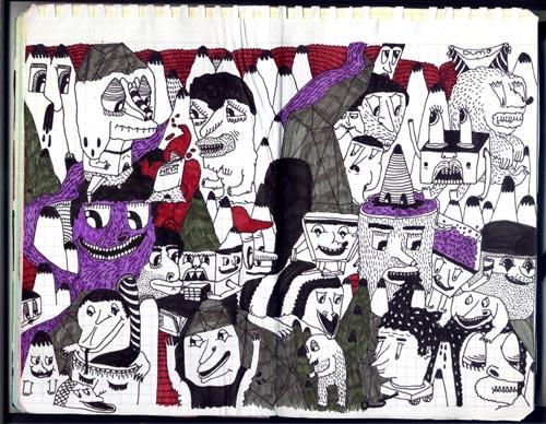 Creative Examples of Doodle Art - Matteo Gualandris