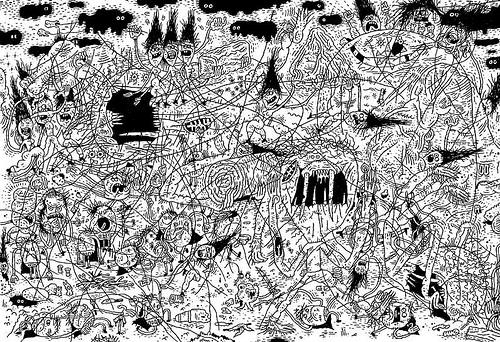 Creative Examples of Doodle Art - Rowan Tedge 1