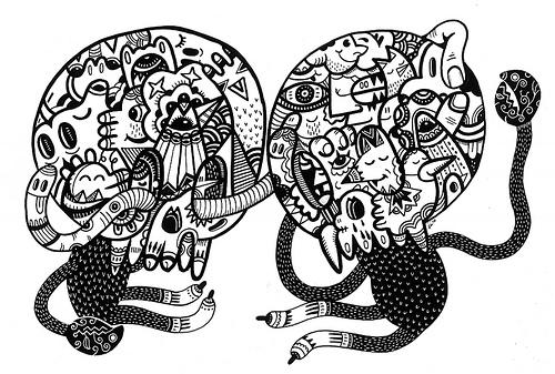 Creative Examples of Doodle Art - Uberkraaft 2
