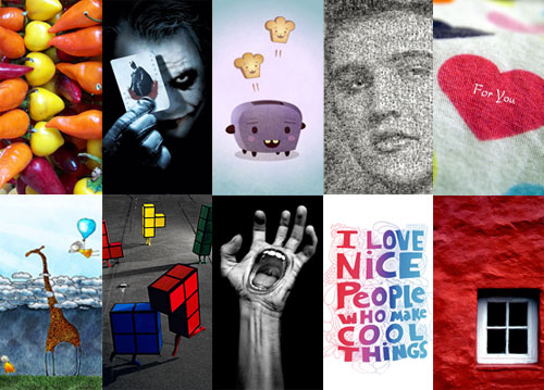 (Freebies) 99 Most Creative Nokia 5800 XpressMusic Wallpapers