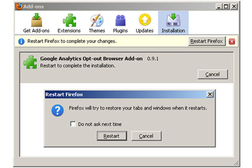 How to Disable Google Analytics?
