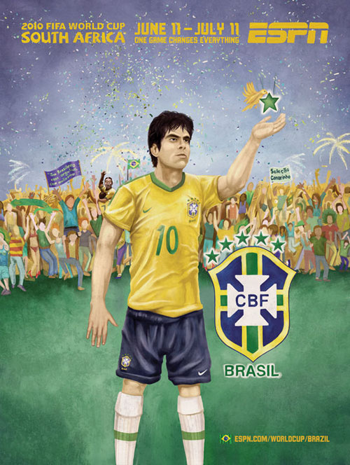 FIFA World Cup 2010 Mural Designs - Brazil
