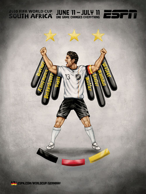 FIFA World Cup 2010 Mural Designs - Germany