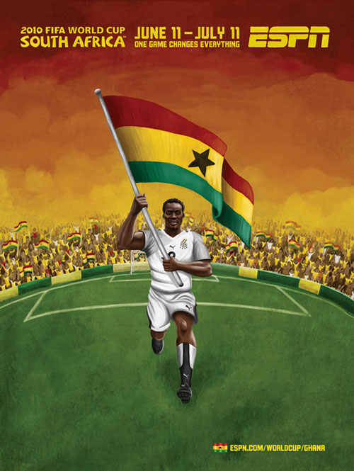 FIFA World Cup 2010 Mural Designs - Ghana