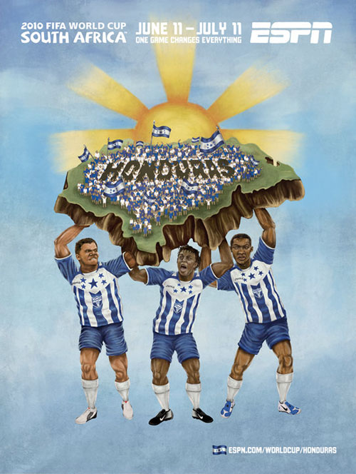 FIFA World Cup 2010 Mural Designs - Honduras