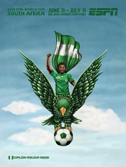 FIFA World Cup 2010 Mural Designs - Nigeria