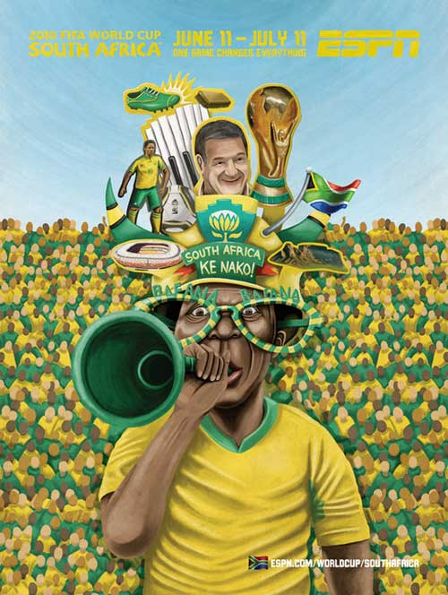 FIFA World Cup 2010 Mural Designs - South Africa