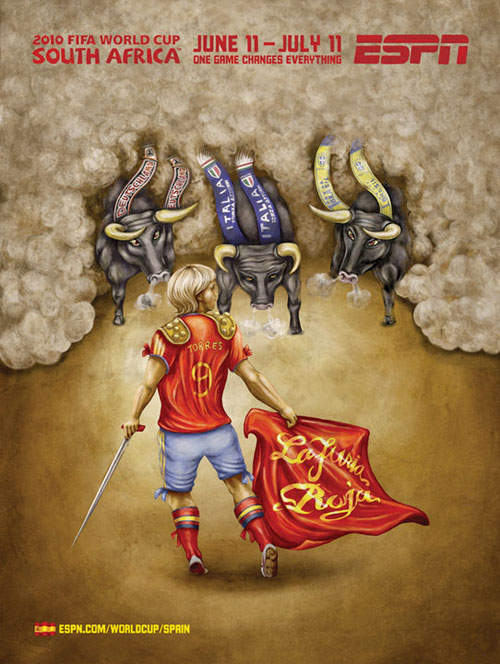 FIFA World Cup 2010 Mural Designs - Spain