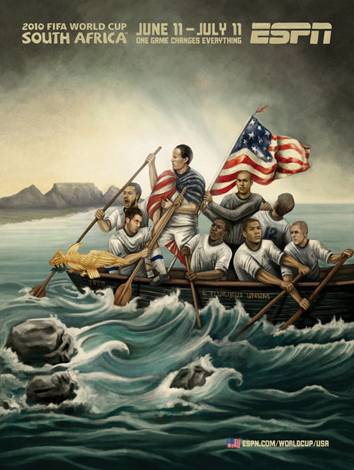 FIFA World Cup 2010 Mural Designs - USA