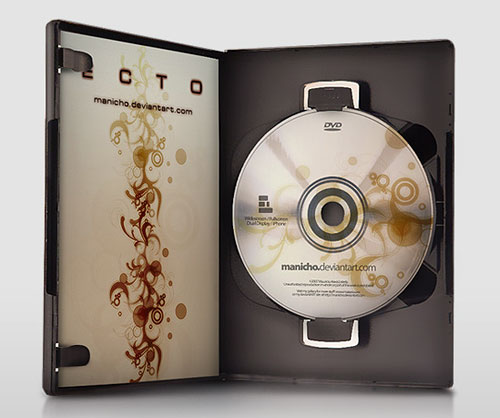 Free PSD Templates for Product Packaging Design - DVD Case PSD Template