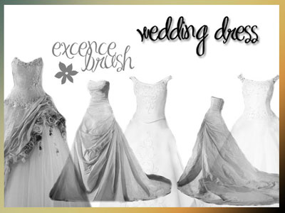 Free Wedding Theme Photoshop Brushes by Excence-stock