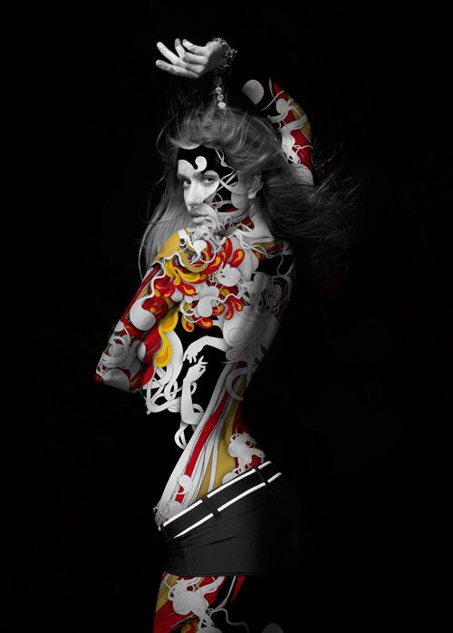 Amazing Illustrations by Alberto Seveso - BACARDI B-LIVE 2007