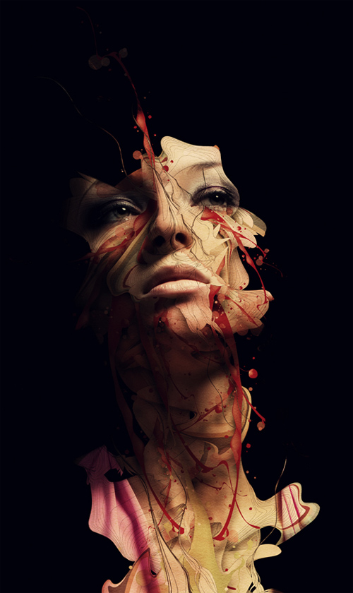 Amazing Illustrations by Alberto Seveso - Michael Phelps