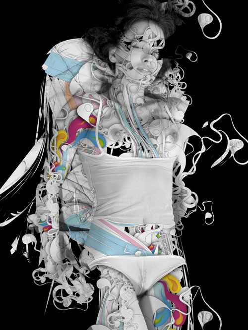 Amazing Illustrations by Alberto Seveso - Dio Benedica la Passera side_A