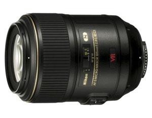 Nikon 105mm f/2.8G ED-IF AF-S VR Micro-Nikkor Lens