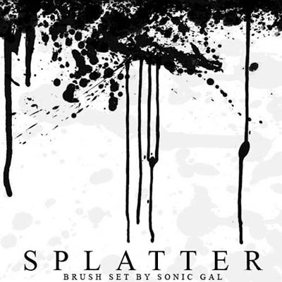 Download High Quality Splatter Photoshop Brushes