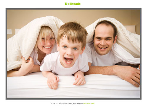 Most Beautiful WordPress Theme for Photographers - Bedheads