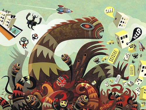 Creative Character Illustrations by Atelier Alesko