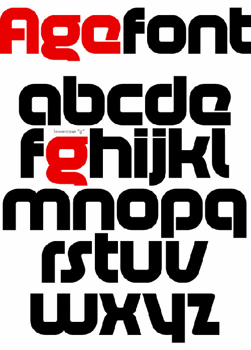 Download High Quality Free Fonts - AGE Free Font