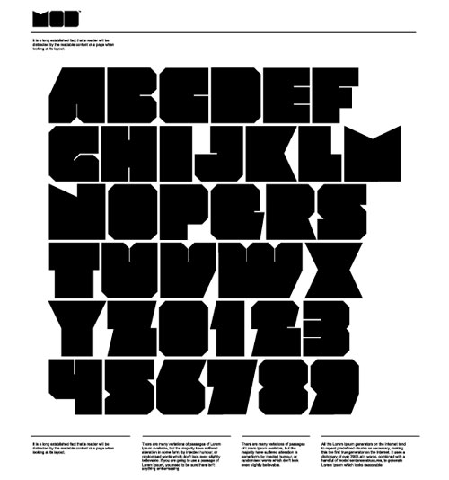 Download High Quality Free Fonts - MOD™ font