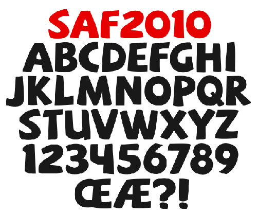 Download High Quality Free Fonts - SAF Free Font
