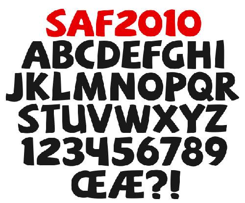 Download High Quality Free Fonts - SAF Free Font
