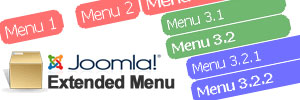 10 Most Outstanding Joomla Extensions - Extended Menu