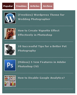 Easy Way to Create WordPress Popular Post with Thumbnail?