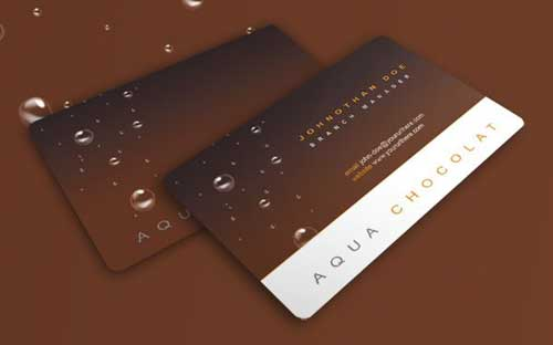 Free Business Card PSD Template by Robbythedesigner