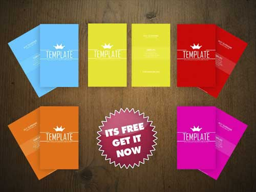 Free Business Card PSD Template by An1ken
