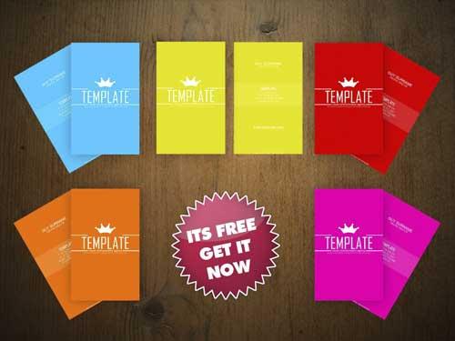 Free Business Card PSD Template by An1ken