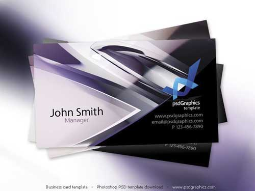 Freebies) Download Free Business Card PSD Templates