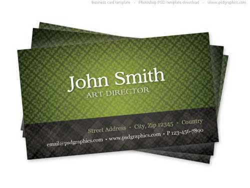 Free Business Card PSD Template by Psdgraphics
