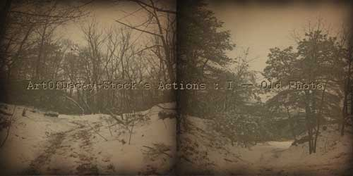 Download Free Sepia Tone Photoshop Action by ArtOfDecay