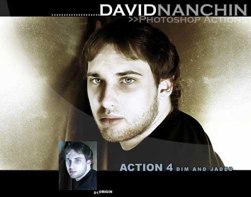 Download Free Sepia Tone Photoshop Action by David Nanchin