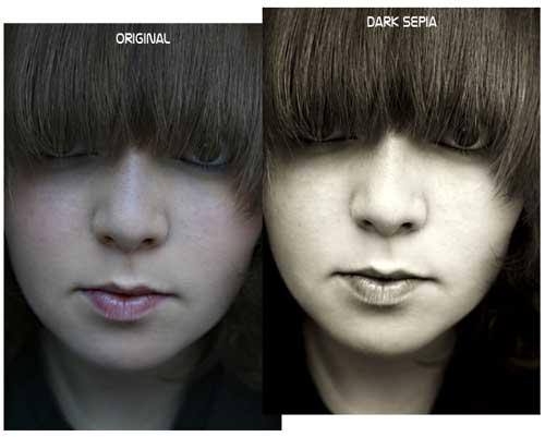 Download Free Sepia Tone Photoshop Action by XxBirtaxX